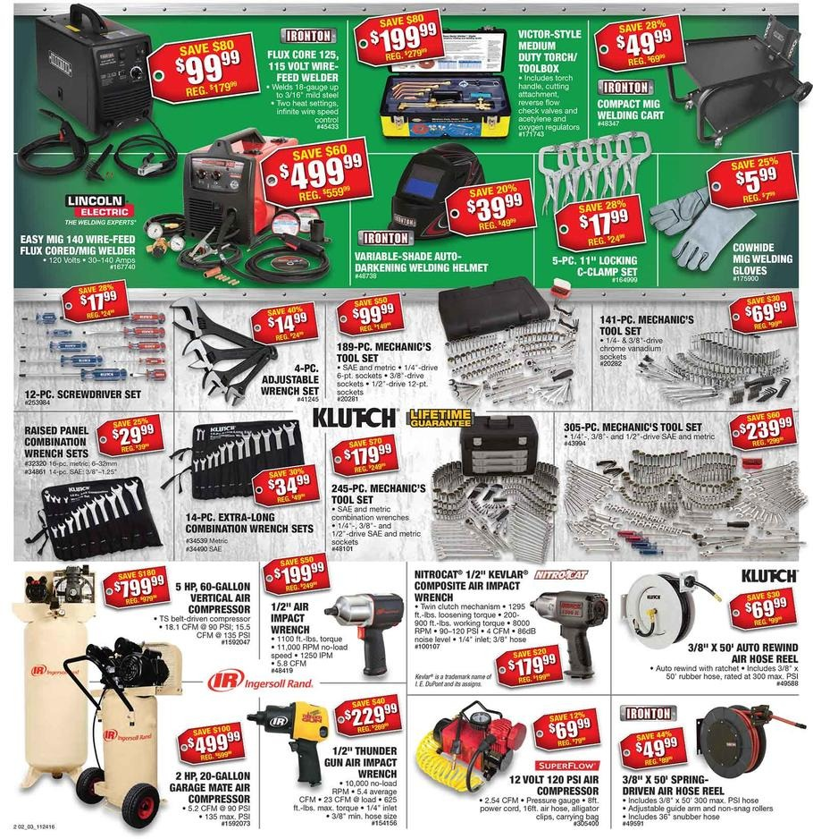 Northern Tool 2016 Black Friday Ad - Black Friday Archive - Black
