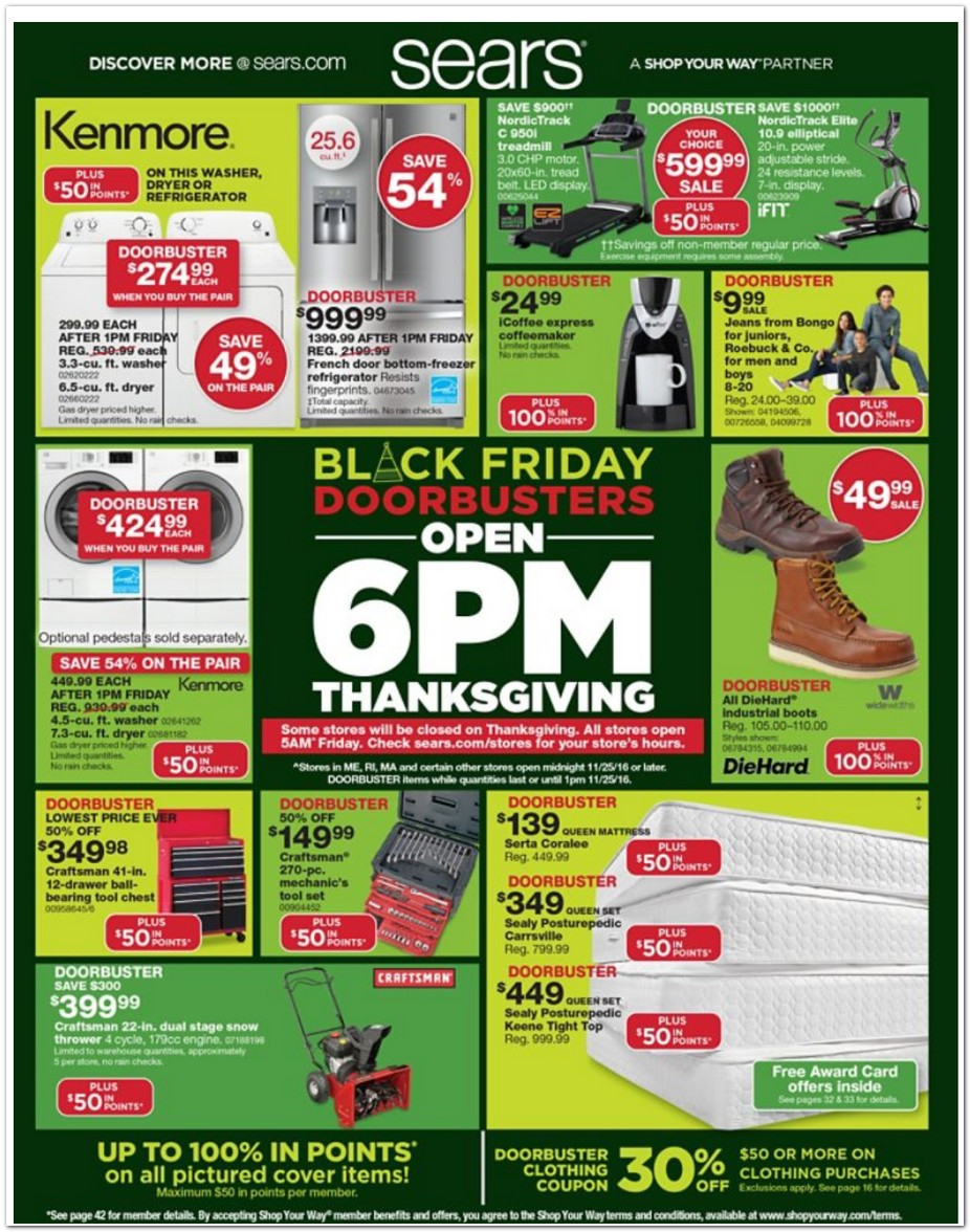 3631d242f85 Sears 2016 Black Friday Ad - Black Friday Archive - Black Friday Ads ...