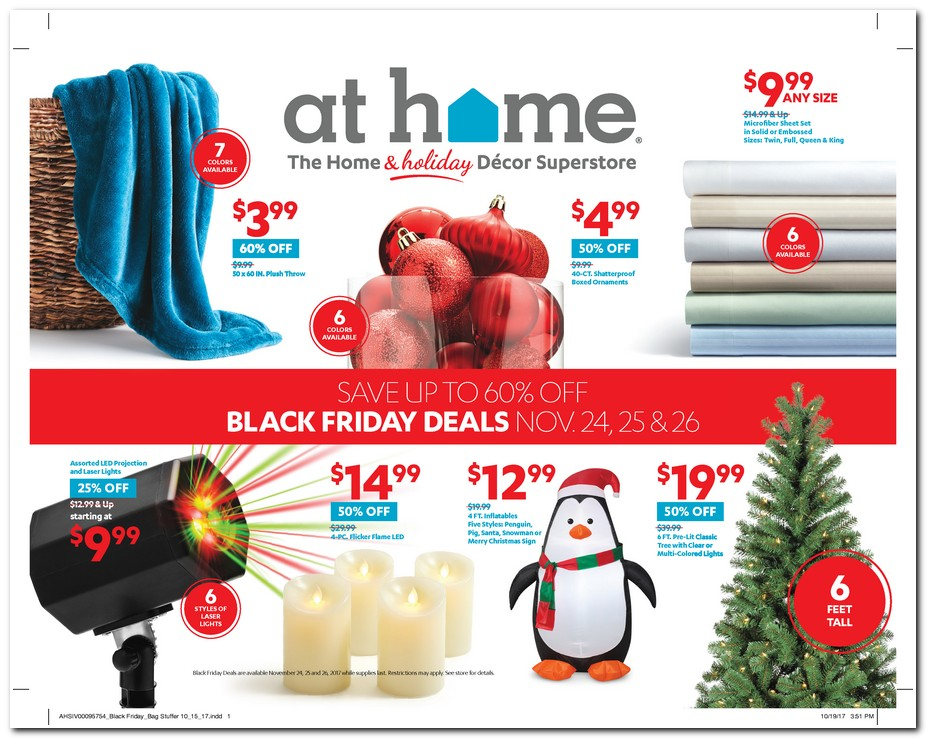 At Home 2017 Black Friday Ad Black Friday Archive Black Friday Ads From The Past