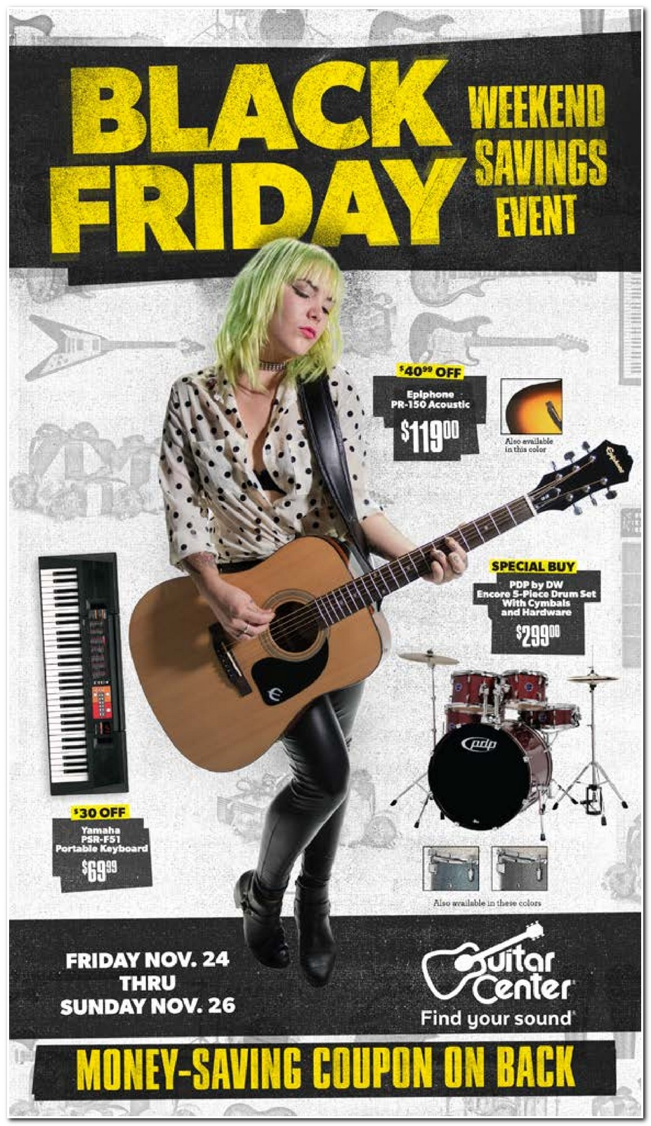 Guitar Center 2017 Black Friday Ad Black Friday Archive Black Friday Ads From The Past