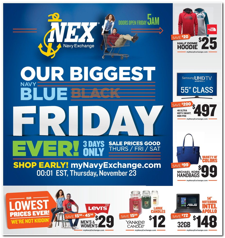 Navy Exchange 2017 Black Friday Ad Black Friday Archive Black Friday Ads From The Past