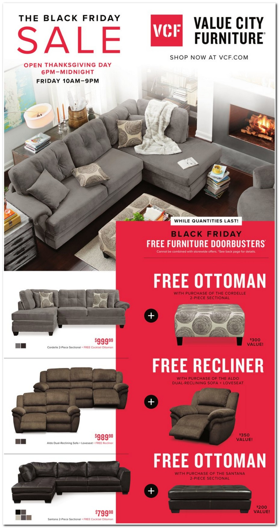 Value City Furniture 2017 Black Friday Ad Black Friday Archive