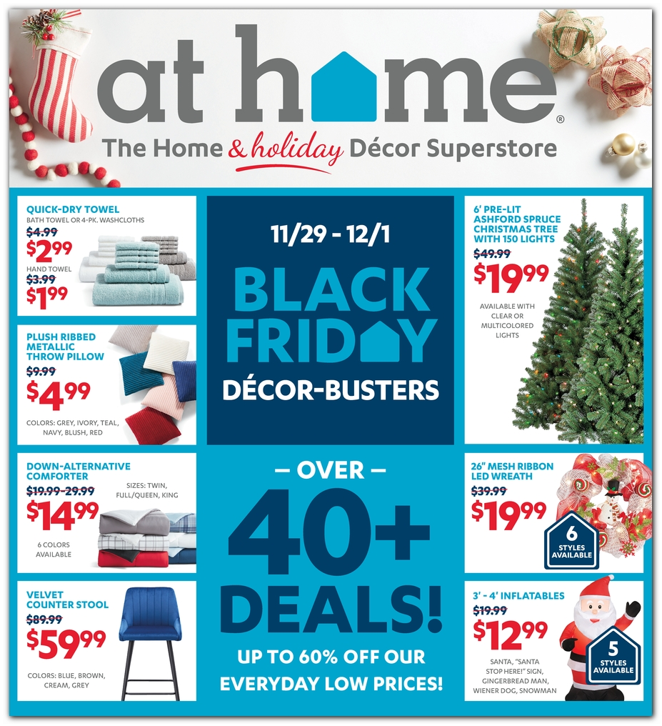 At Home 2019 Black Friday Ad Black Friday Archive Black Friday Ads From The Past