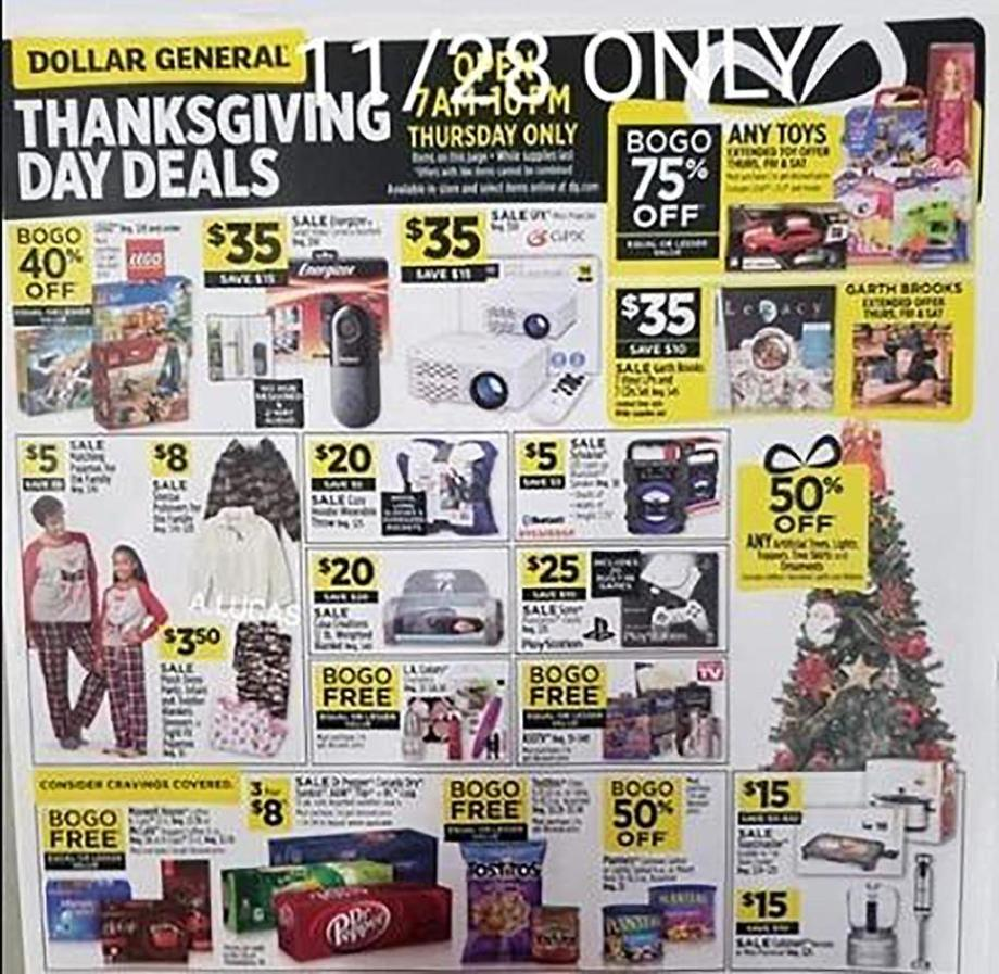 Dollar General 2019 Black Friday Ad Black Friday Archive Black Friday Ads From The Past