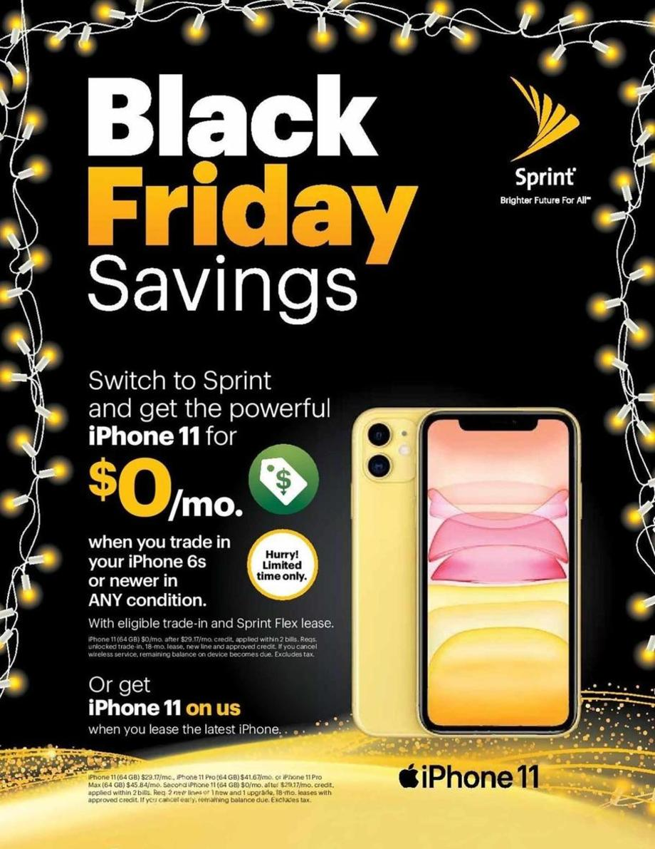 Sprint 2019 Black Friday Ad Black Friday Archive Black Friday Ads From The Past