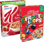 Kellogg's Special K or Froot Loops