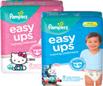 Pampers Diapers& Easy Ups Training Underwear
