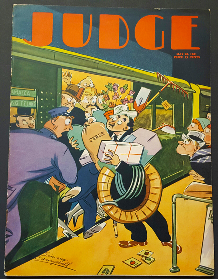 Judge Magazine May 23 1931 Campbell Cover Art Dr Seuss Cartoons
