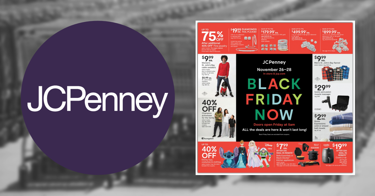16bce622dab5 JCPenney Black Friday Ad Scan for 2018 - Black Friday   GottaDEAL