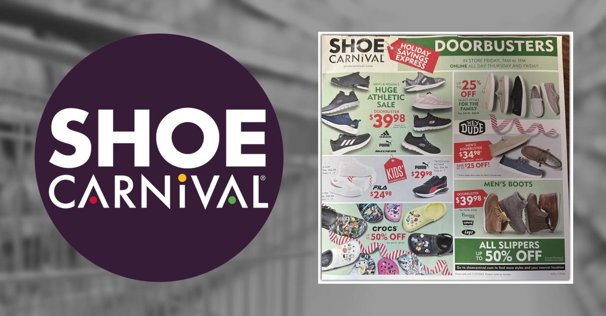 shoe carnival black friday 2018 hours