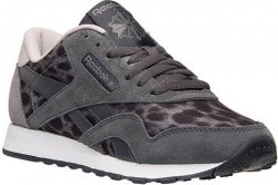 Women s Reebok Classic Wild Casual Shoes in Grey Animal Print ... ea1b22bae