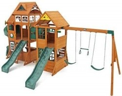 Cedar Summit Paramount Wooden Play Set 1 899 00 W Free Shipping