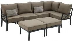 Mainstays Sandhill 7 Piece Outdoor Sofa Sectional Set 349 00