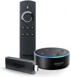 Fire Tv Stick With Alexa Voice Remote Amp Echo Dot Bundle