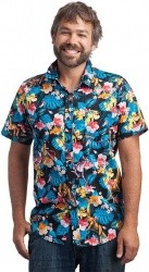 e20eebcf ThinkGeek has the Officially Licensed Jurassic Park Hawaiian Shirt, Sizes S  to 2XL for $17.99. Free shipping on $75 or more (cannot be combined with  other ...