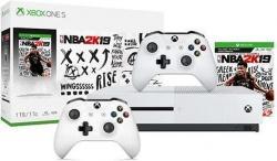 Xbox One S 1TB NBA 2K19 Bundle w/ 2nd Wireless Controller
