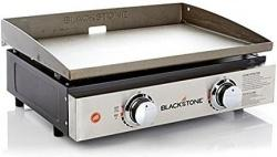 "Blackstone 22"" Portable Gas Powered Tabletop Grill & Griddle - $119.99 Today"
