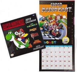 2019 Super Nintendo Retro Art 16-Month Wall Calendar - $14.99 w/ FS on $35