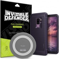 new style 34378 af4b4 Samsung Galaxy S9/S9 Plus Wireless Charger, Case & Screen Protector ...