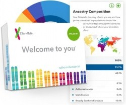 23andMe Personal Ancestry DNA Test Kit with $10 Target Gift Card - $59.00 - Target - GottaDeal.com
