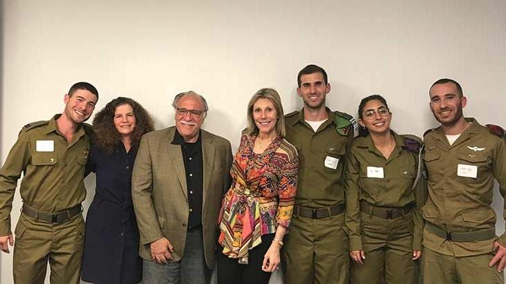 Friends of the IDF introduces IMPACT! scholarship recipients.