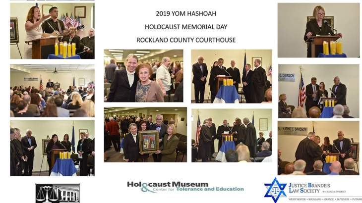 Photos from Rockland County - Yom HaShoah Holocaust Memorial Day