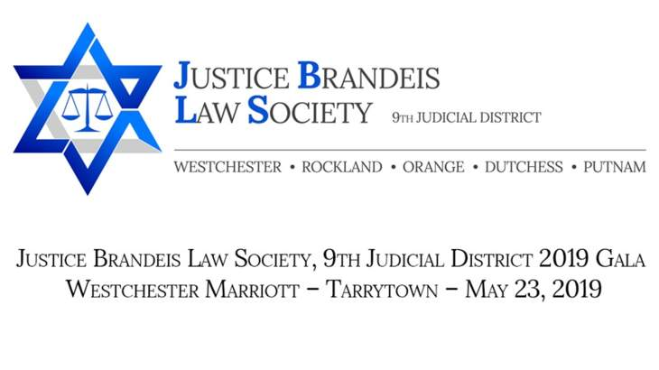 Justice Brandeis Law Society, 9th Judicial District 2019 Gala