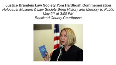 Rockland County JBLS Yom Ha'Shoah Commemoration