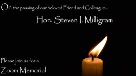 JBLS Zoom Memorial for the Honorable Steven I. Milligram