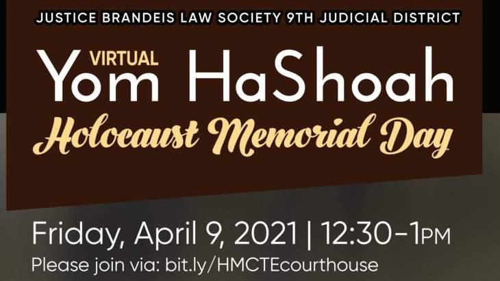 Virtual Commemoration of Yom HaShoah