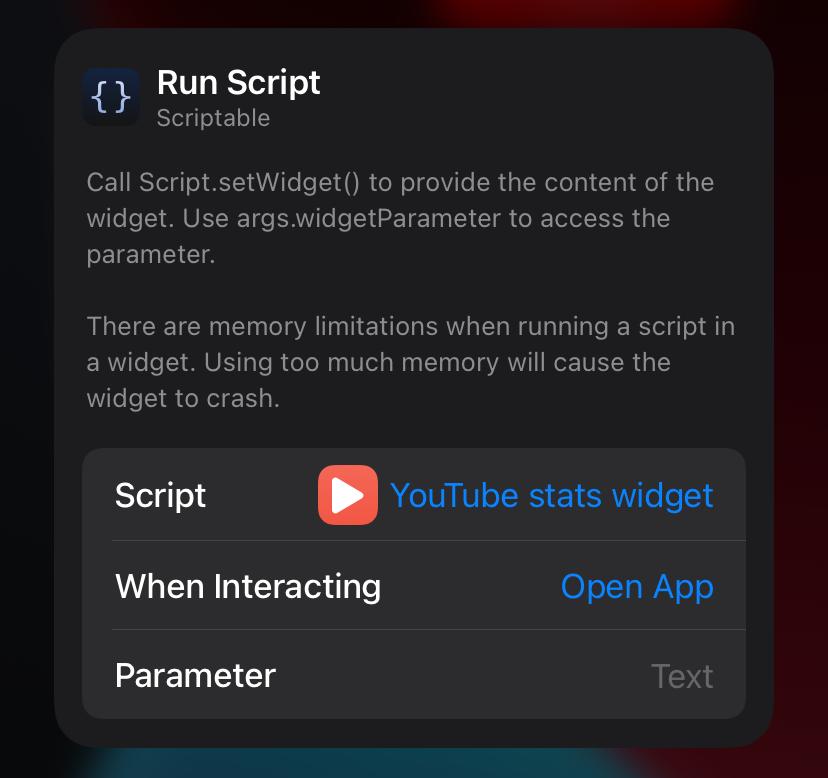 Photo of Scriptable configurator