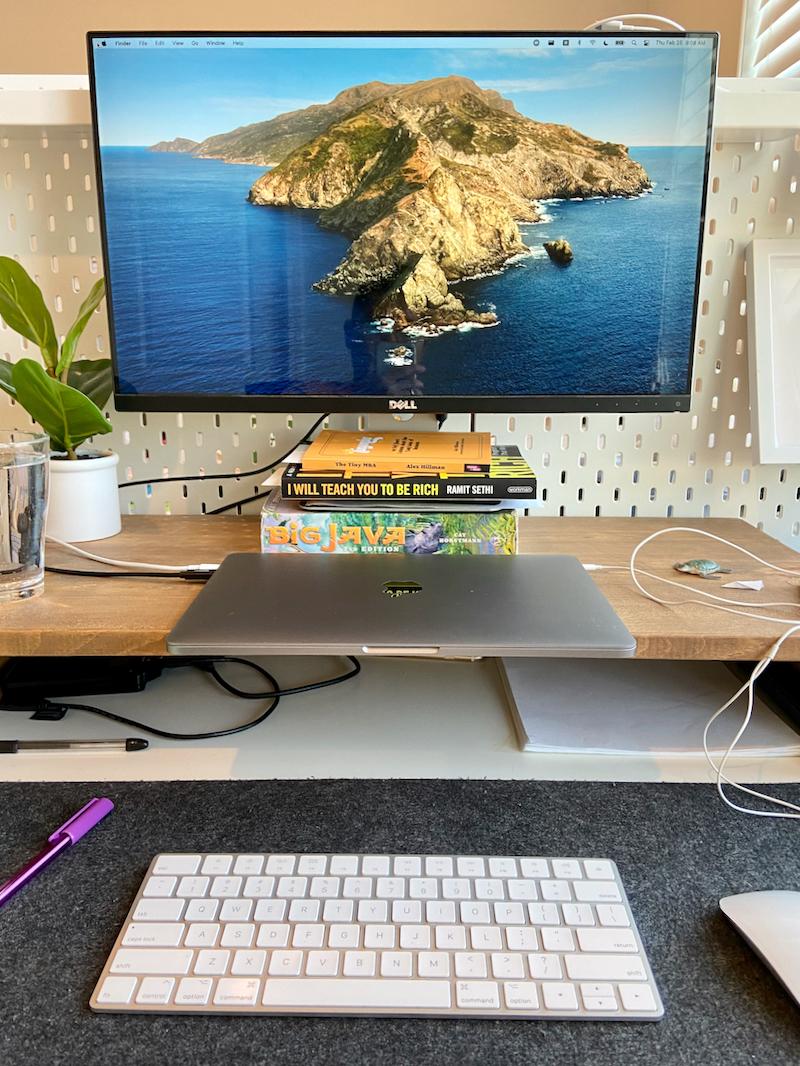 My external monitor setup