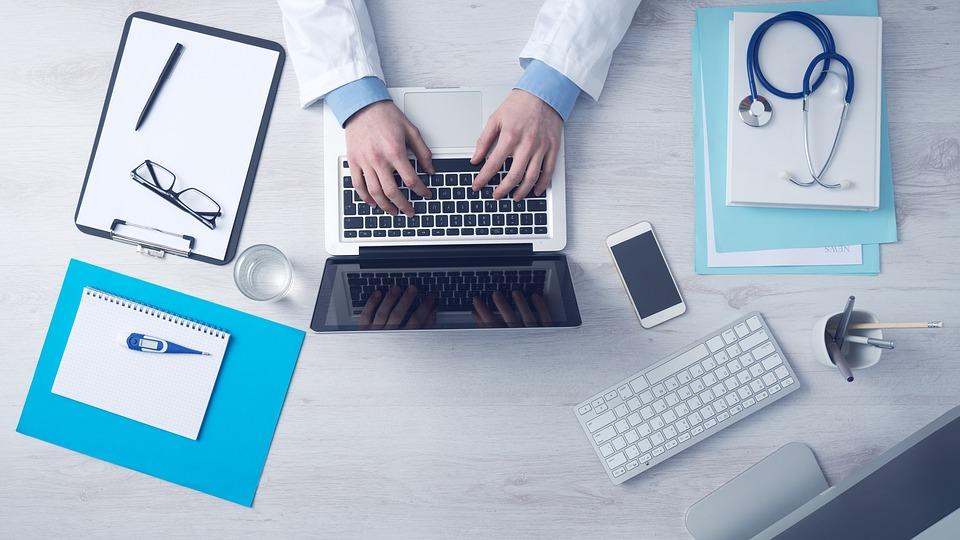 Computer Business Typing Keyboard Laptop Doctor