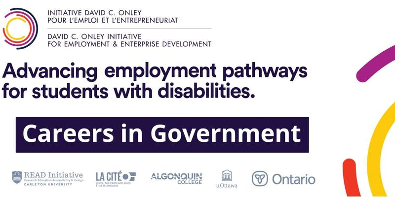 Advancing employment pathways for students with disabilities Careers in Government