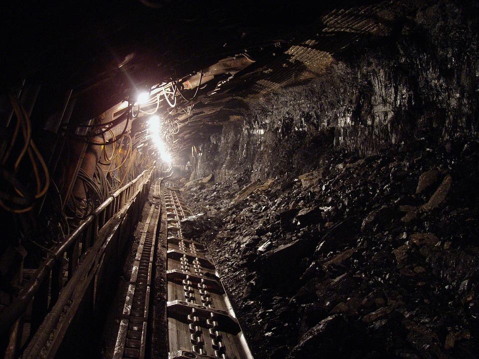 Coal Black Mineral Underground Mine Miners