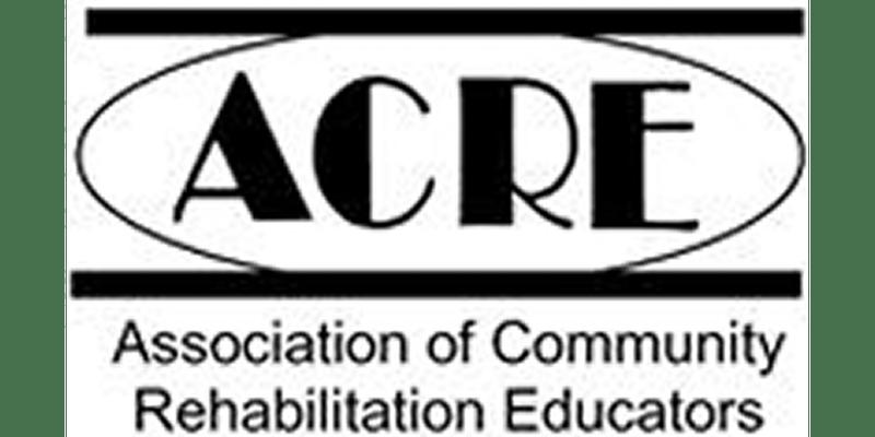 Association of Community Rehabilitation Educators (ACRE) Banner