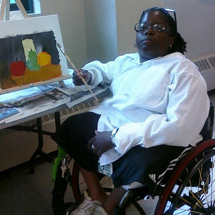 Sally Thomas Painting