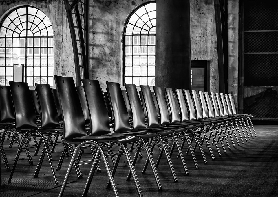 Chairs Series Sit Row Hall Event Seat