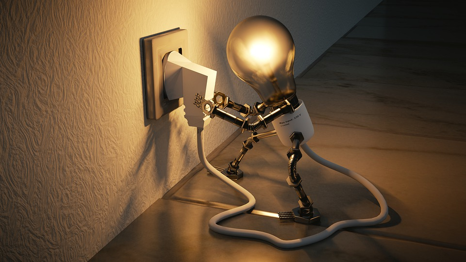 Light Bulb Idea Creativity Socket Light