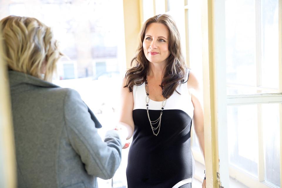 Job Interview Interview Job Businesswoman Woman