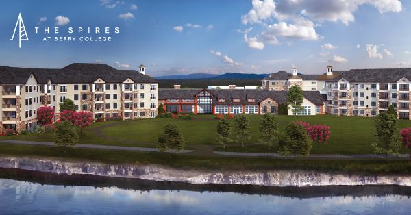 the spires at berry college 55 plus retirement communities living