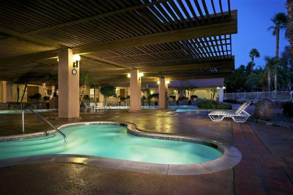 Hot Springs at Night