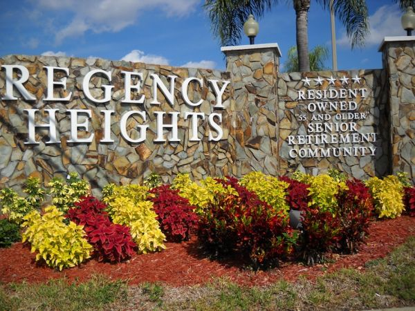 Regency Heights -- a Carefree Community!