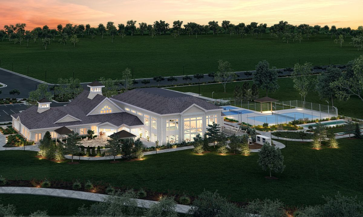18,000 sq ft clubhouse