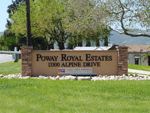 Poway Royal Estates Hometown America