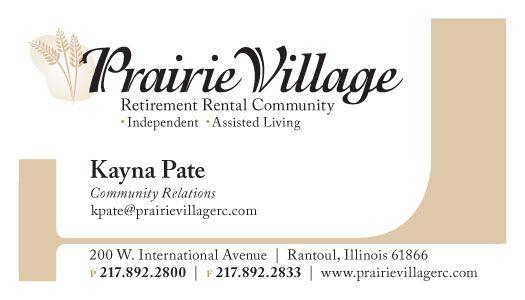 Prairie Village retirement community