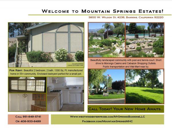 Mountain Springs MHC