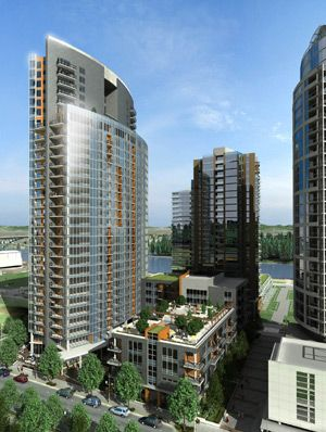 Mirabella at South Waterfront Rendering