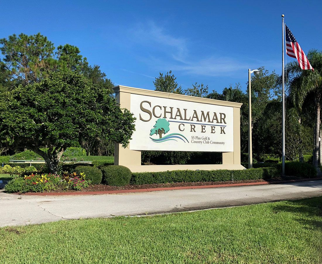 Schalamar Creek - Lakeland Florida