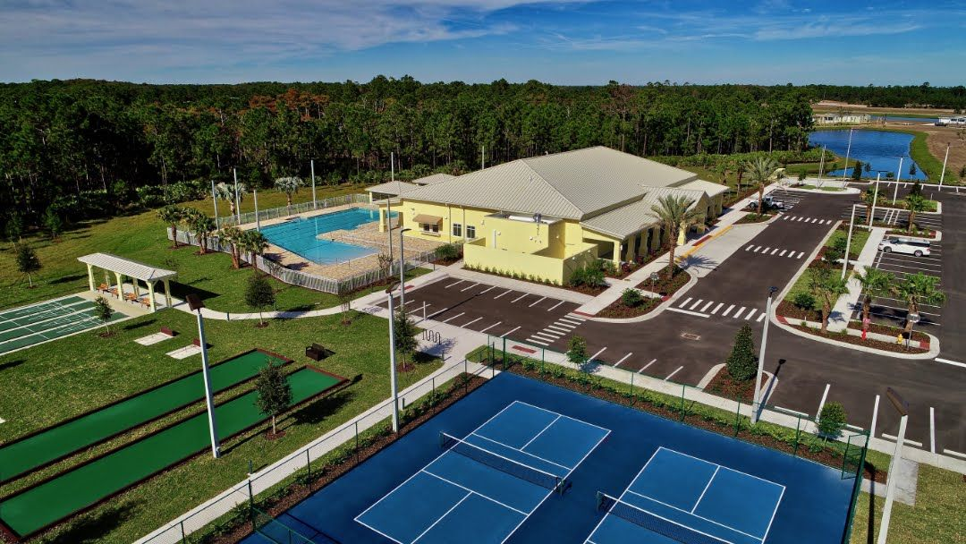 10,300 sq. ft clubhouse, Olympic size pool, pickleball and more